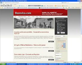 Photo: 2007 - Sito paesano www.bazovica.com www.basovizza.com