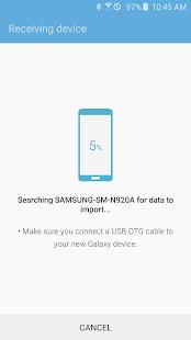 Samsung Smart Switch Mobile- screenshot thumbnail