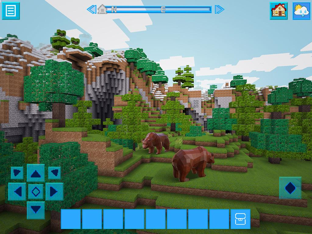 Realmcraft with skins export to minecraft android apps for Good craft 2 play store