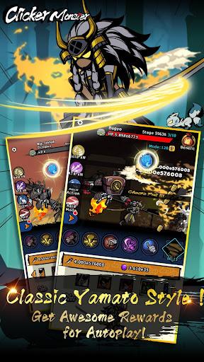 Télécharger Gratuit Clicker Monster: RPG Idle Game APK MOD (Astuce) screenshots 4