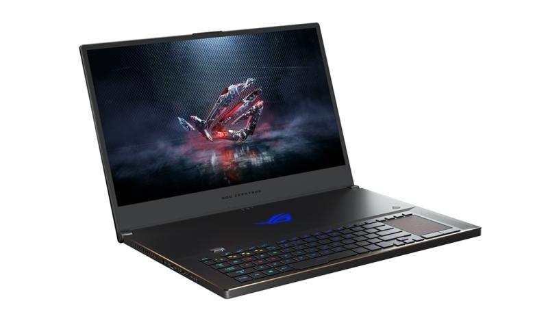 NVIDIA GeForce RTX laptop.