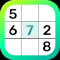 Real Sudoku : brain training free relax logic game icon