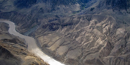 Photo: Frasier River Canyon, B.C. south of Prince George.