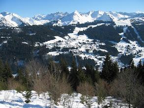 Photo: les Gets versant les Chavannes