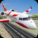 City Airplane Pilot Flight New Game-Plane Games icon