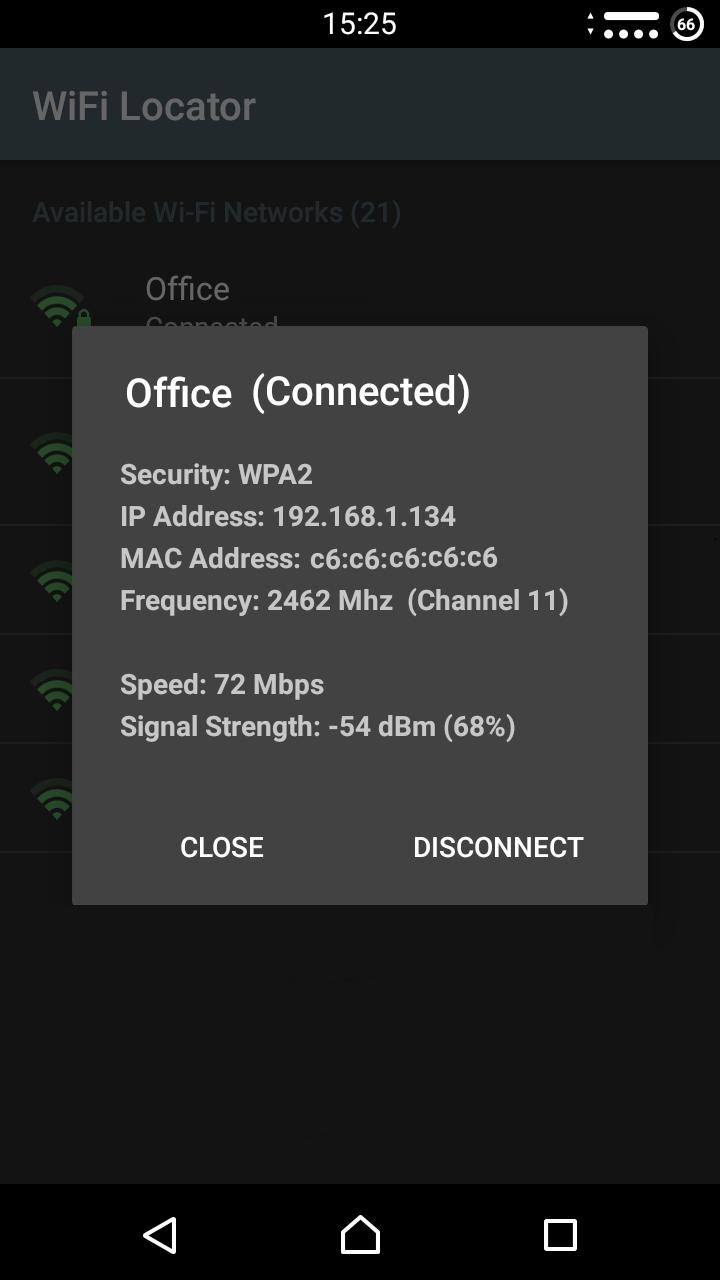 WiFi Locator Screenshot 4
