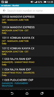 Mumbai Local Train Timetable- screenshot thumbnail