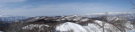流葉山からパノラマ(北方面)