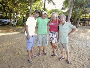 Photo: Lupercio, Rogerio y Ricardo