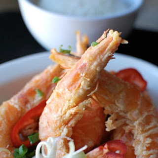 Rice Flour Fried Shrimp Recipes