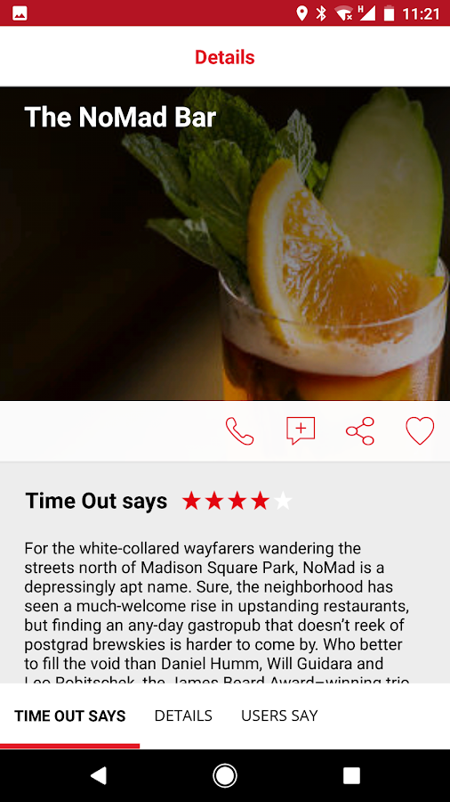 Time Out: Discover your city- screenshot
