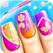 Fashion Nail Salon Game