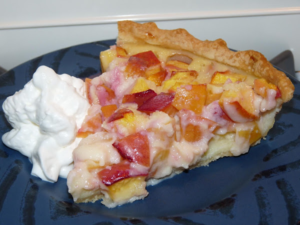 Nectarine Custard Pie Recipe