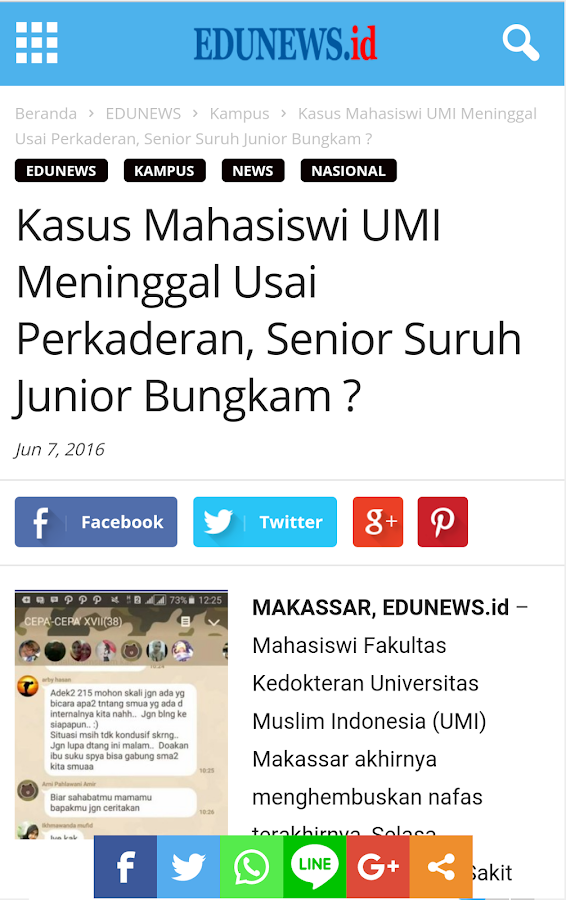 EduNews.ID- screenshot