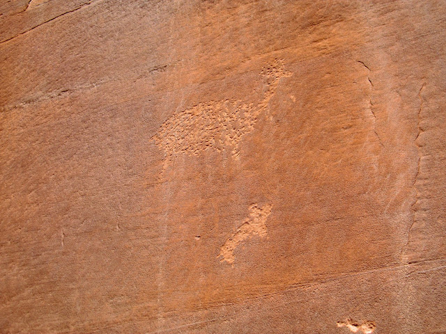 Bull Hollow petroglyphs