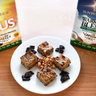 Coconut PB & Chocolate Mint Protein Squares