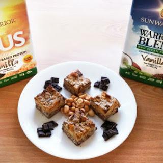 Coconut PB & Chocolate Mint Protein Squares Recipe