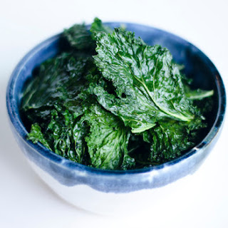 Sea Salted Kale Chips.
