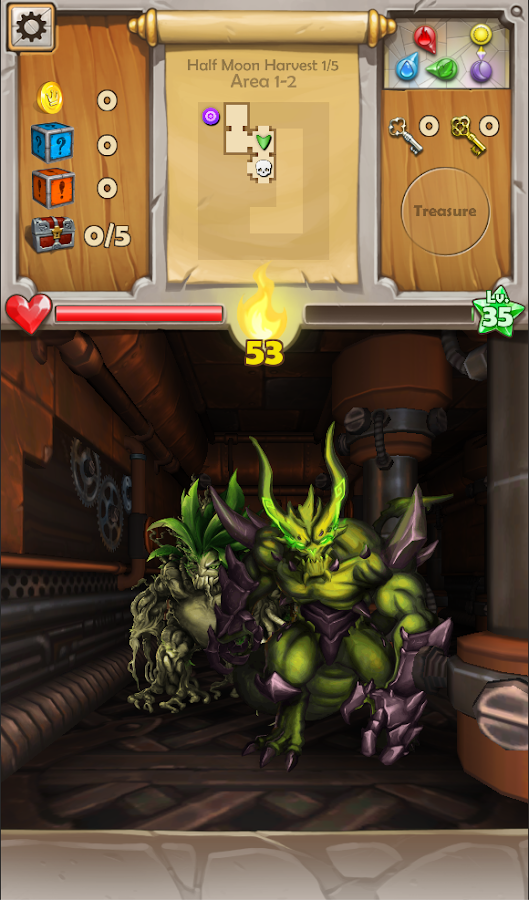 Dungeon Monsters - RPG- screenshot