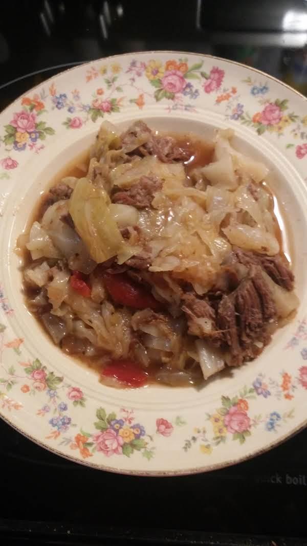 Cabbage Beef Stew