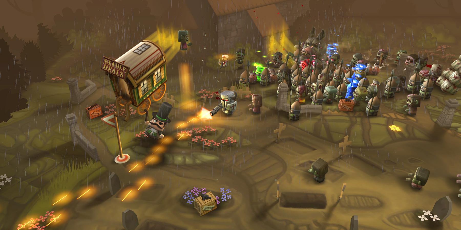Screenshots of Minigore 2: Zombies for iPhone