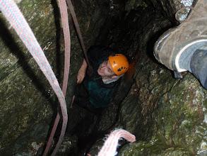 Photo: Clogwyn y Bustach - inside Lockwood's Chimney