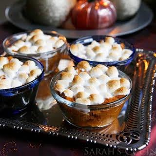Mini Sweet Potato Casseroles.