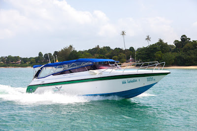 Travel from Koh Phi Phi to Krabi by speed boat