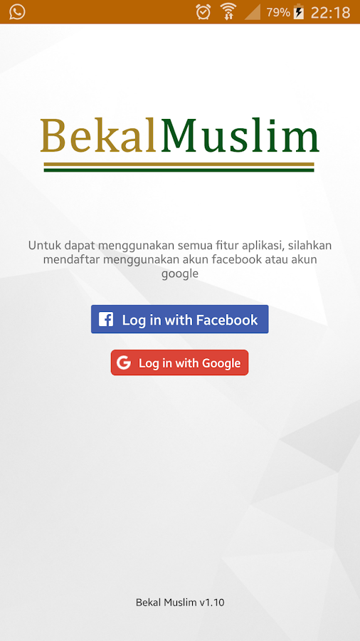 Bekal Muslim- screenshot