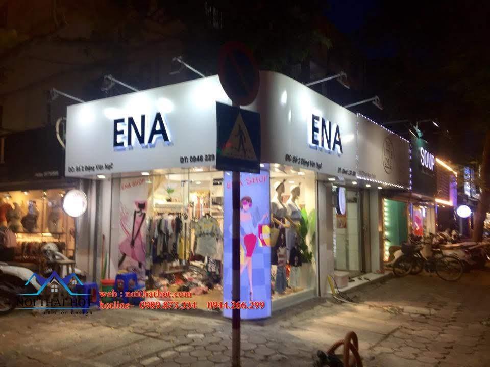 thiết kế shop thời trang ena 6
