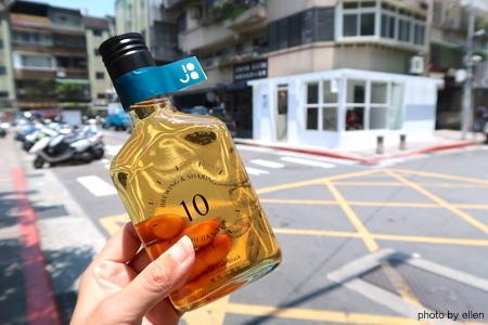 十間茶屋 Shi Jian Tea 玻璃瓶裝冷泡茶+包種茶梅磅蛋糕
