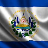 el salvador flag wallpaper