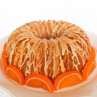 Orange Creamsicle Cake.