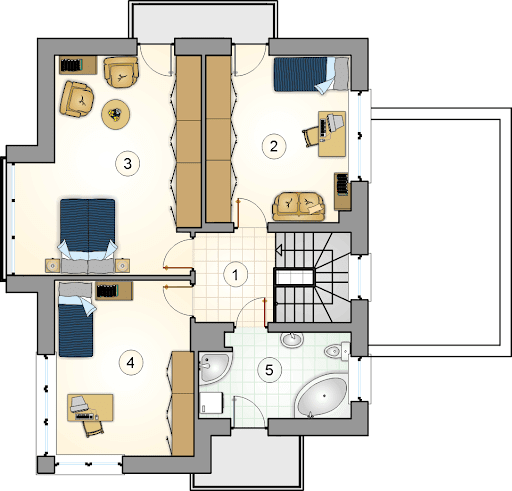 Alfa - Rzut piętra