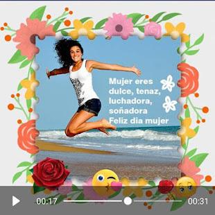 Download Women's day video maker  apk screenshot 3