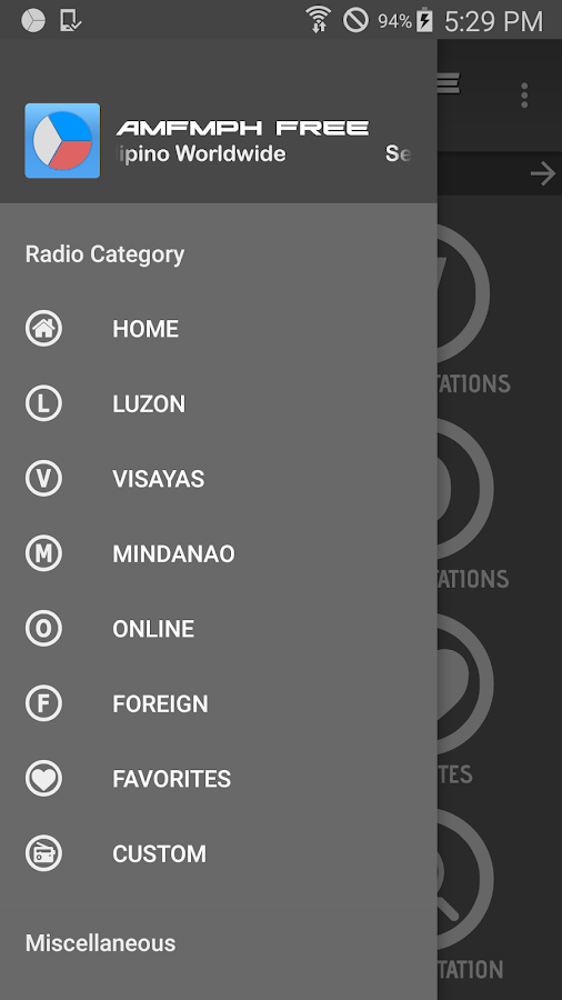 AMFMPH (Philippines Radio)- screenshot