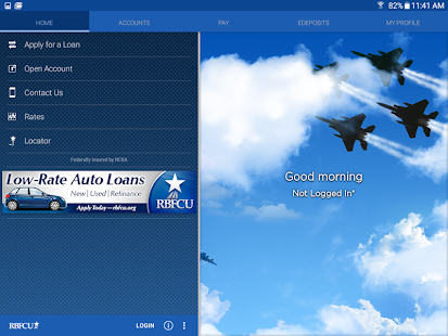 RBFCU Mobile- screenshot thumbnail