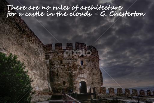 Castle Quotes Sentences Typography Pixoto