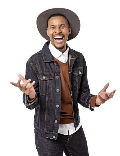 The Expresso show, talented television host Thabiso Makhubela./Supplied