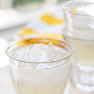 Fresh Ginger Lemonade.