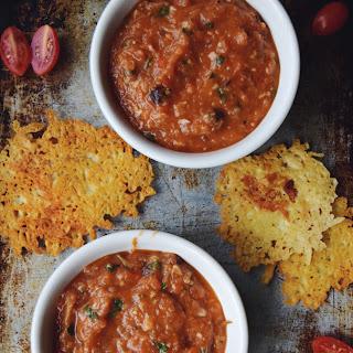 Roasted Tomato & Pepper Gazpacho