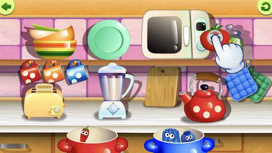 幼兒有趣的食物幼兒園學習遊戲