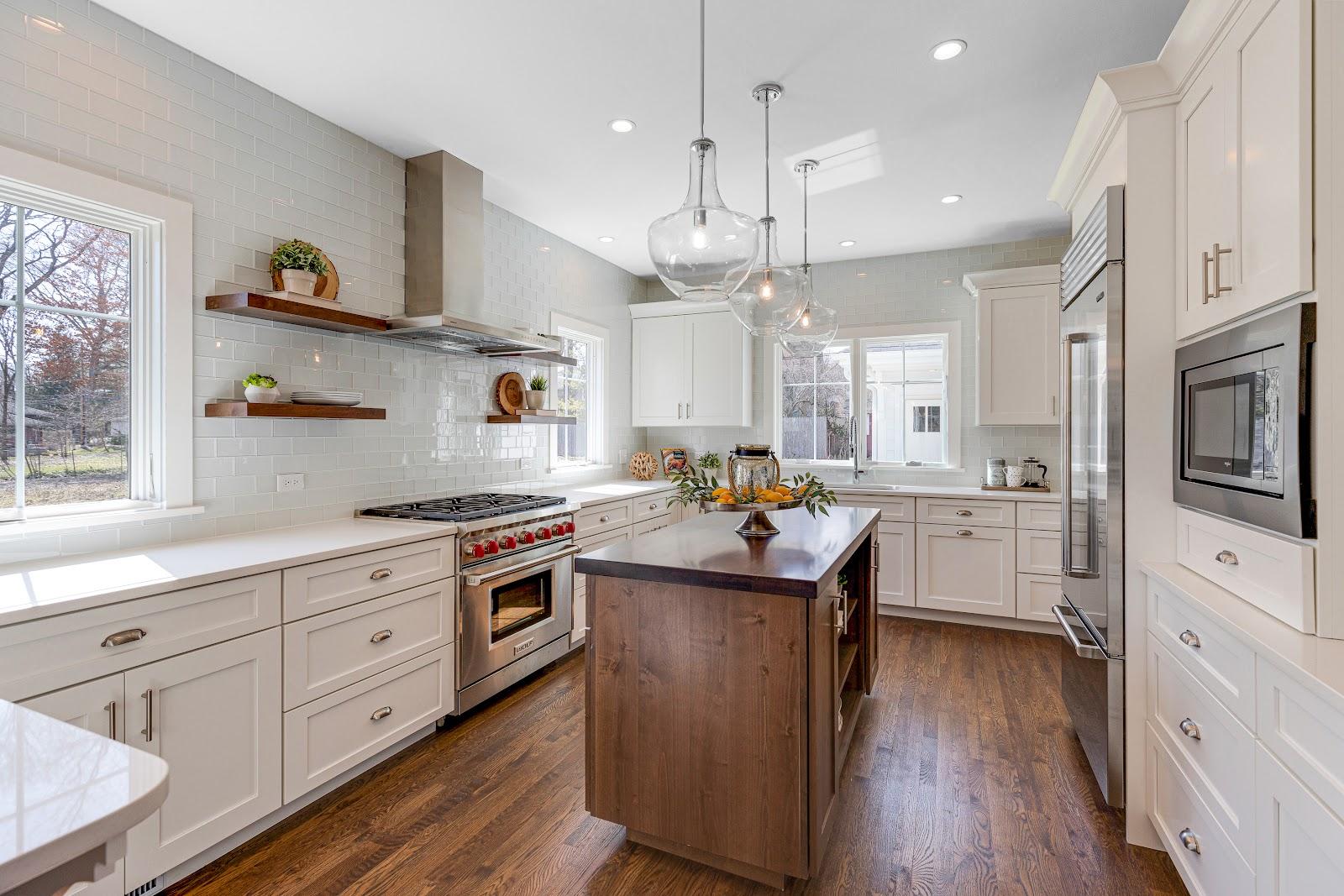Kitchen by Hogan Design & Construction