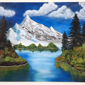 Landscape by Sangeeta Paul - Painting All Painting