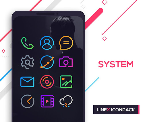 Screenshot for LineX Icon Pack in United States Play Store