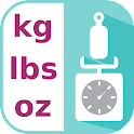 Weight Conversion (kg,lb,etc.) icon