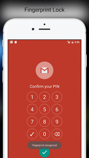 Fingerprint Pattern App Lock 4.06 screenshots 2