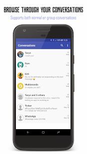 ?SMS Share 2 -Print,Convert,Export,Backup PDF,CSV - náhled