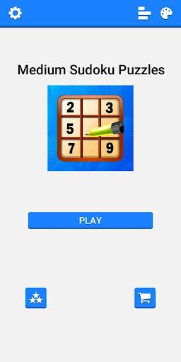 Medium Sudoku Puzzles 1.2.4 screenshots 1