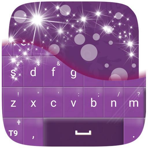 Purple Fancy Keyboard